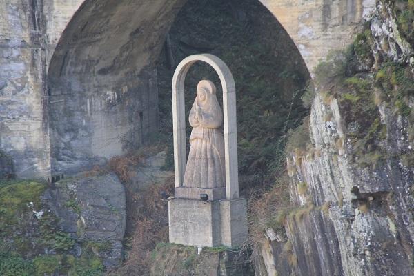 Virgen de la Luz, Embalse de Salime