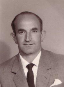 Ricardo García Fernández, en 1970.