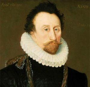 El pirata inglés John Hawkins.
