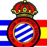 Bandera insignia del Español de Barcelona.