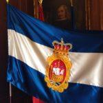 La bandera de Avilés.